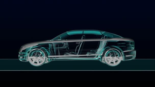 Automobilová technika. Pohled na rentgen.