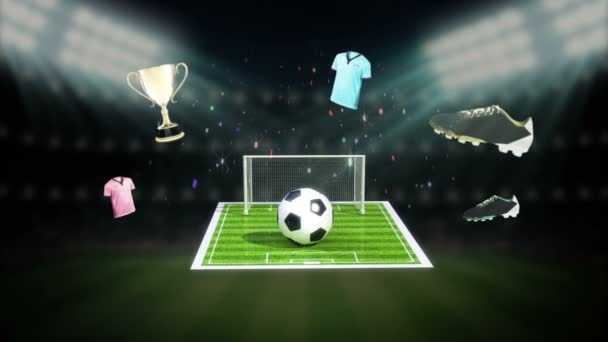 Around Soccer icon, football animation(included alpha)