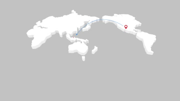 World map island travel beach tour flying airplane illustration world map island travel beach tour flying airplane illustration animation vacation gumiabroncs Choice Image