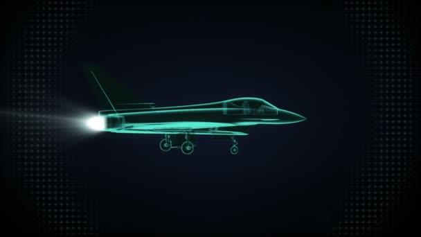 Otočné letadlo Airforce. rentgen obrázku.