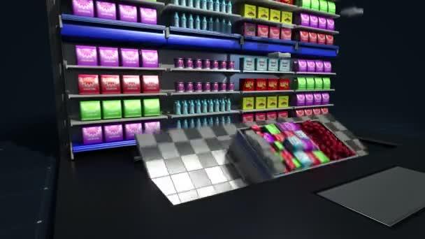 Tablet klávesnice změnit online obchod s potravinami, online supermarket. nákupní cart.online purchuse