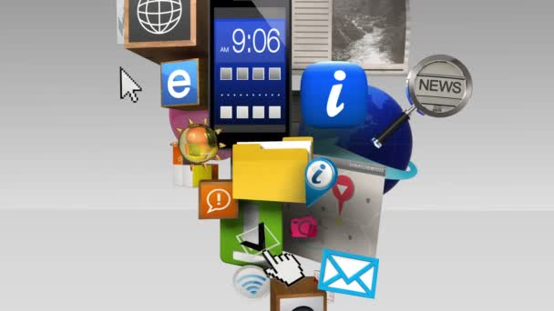 Exploding information contents in smart phone, mobile device(included Alpha)