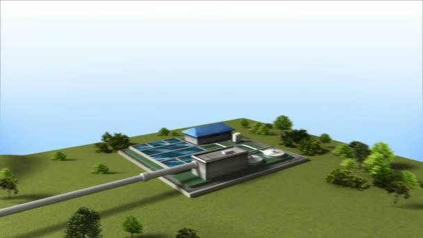 Prozesssteuerung Wasseraufbereitungsanlage am Boden (im Lieferumfang enthalten ist Alpha)
