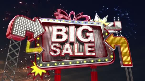 Nápis-na prodej Velký prodej v led diodou billboardu propagace