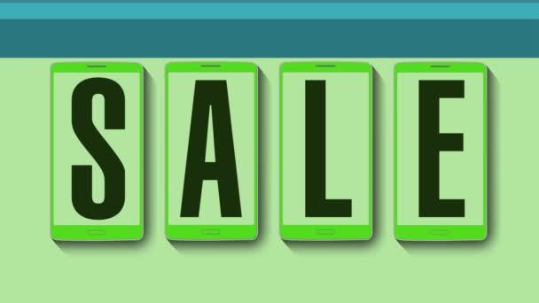 Promotion of Sale, Discount 70 percent, effective sale alarm.