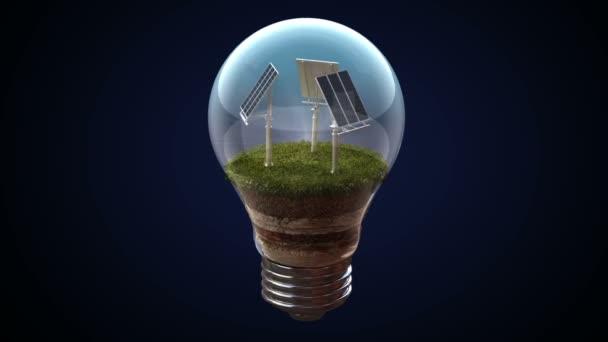 Napenergia teszi az elektromos izzó, környezetbarát energia