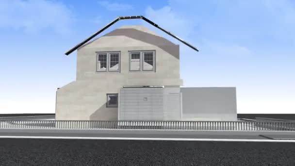Így a ház és a ház eladó-jel