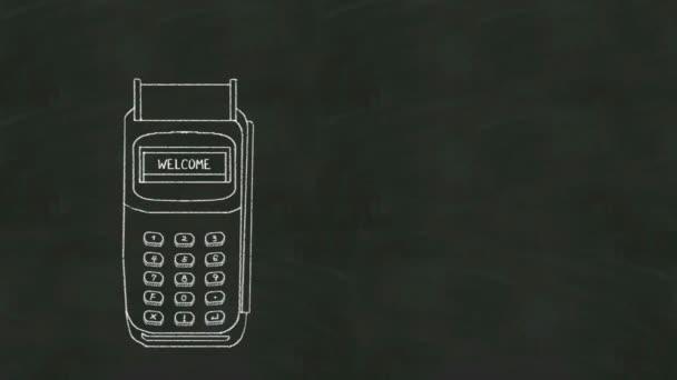 Ukradl kreditní kartu a Pos platba v tabuli
