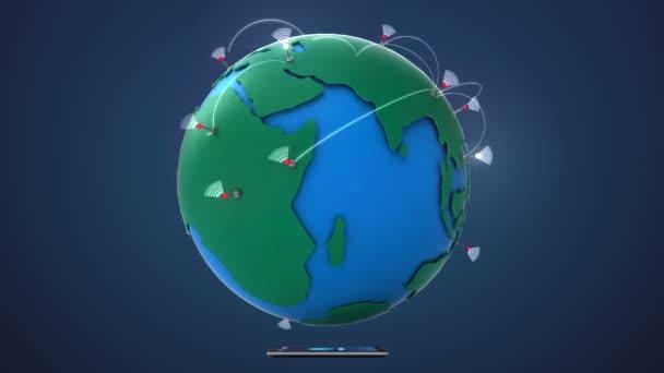 Začněte Indie, rostoucí globální síť s komunikací, chytrý telefon, mobilní zařízení