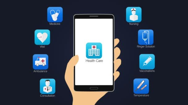 Health care application function for smart phone,mobile 2