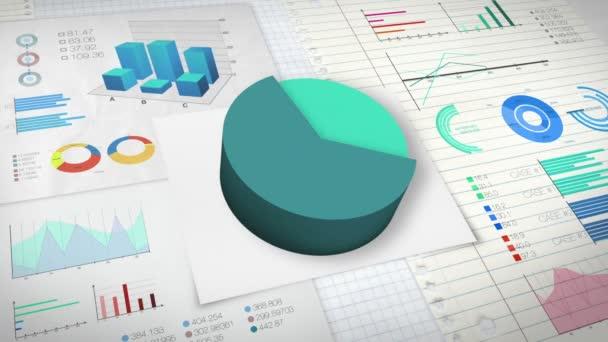 80 percent Pie chart with various economic finances graph version 2 (no text version)