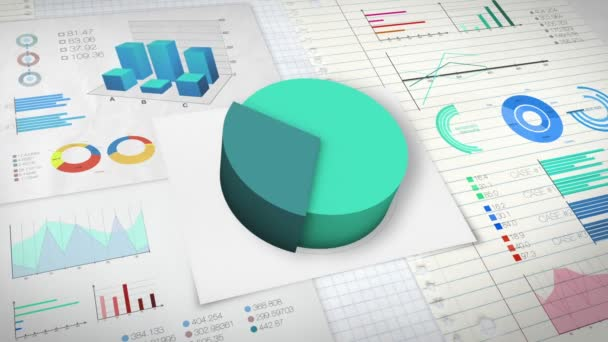 40 percent Pie chart with various economic finances graph version 2 (no text version)