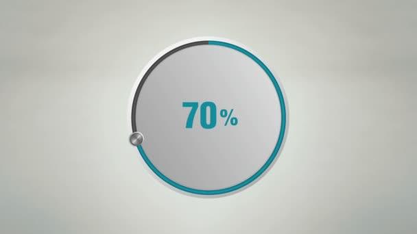 zeigen etwa 70 Prozent Kreiswahlanimation an.