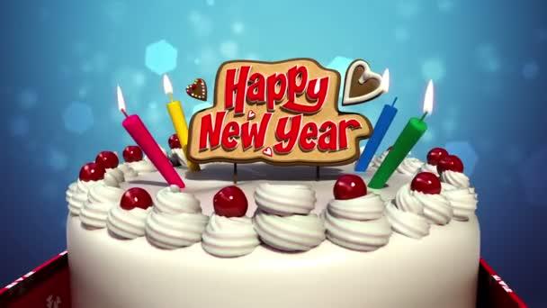 Šťastný nový rok na oslavu oslavy (včetně alfa)