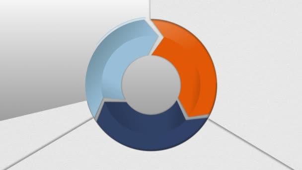 Circle Diagram Three Result Arrow Box For Presentation 2 Powerpoint