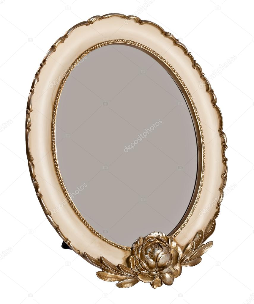 Oval wooden photo frame with empty space stock photo zozulya86 oval wooden photo frame with empty space stock photo jeuxipadfo Gallery
