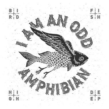 mythological flying fish