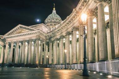 Kazan Cathedral or Kazanskiy Kafedralniy Sobor, landmark of St. Petersburg