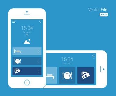 Responsive Design Blueprint Mobile Wireframe
