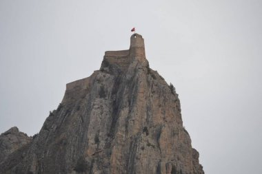 watchtower in the Black Sea region of Turkey on a pass