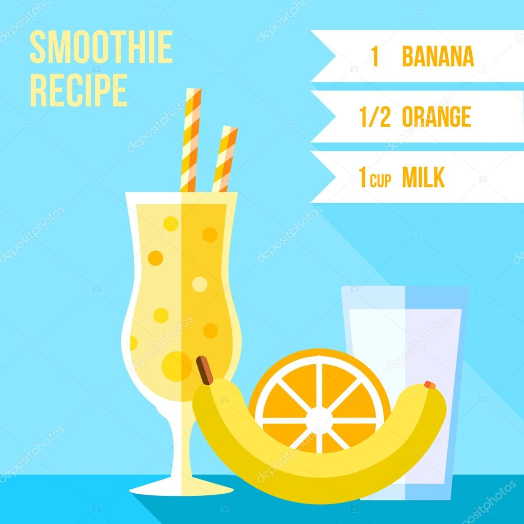 orange and banana smoothie recipe