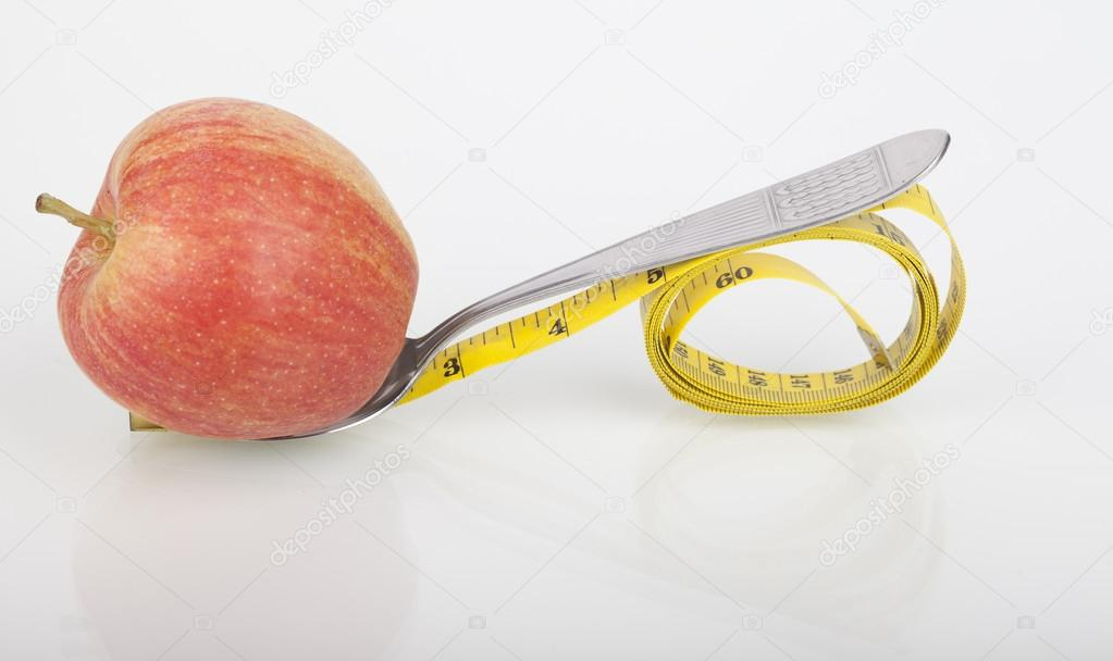 Apple As A Symbol Of Healthy Eating Stock Photo Smena8 86302104