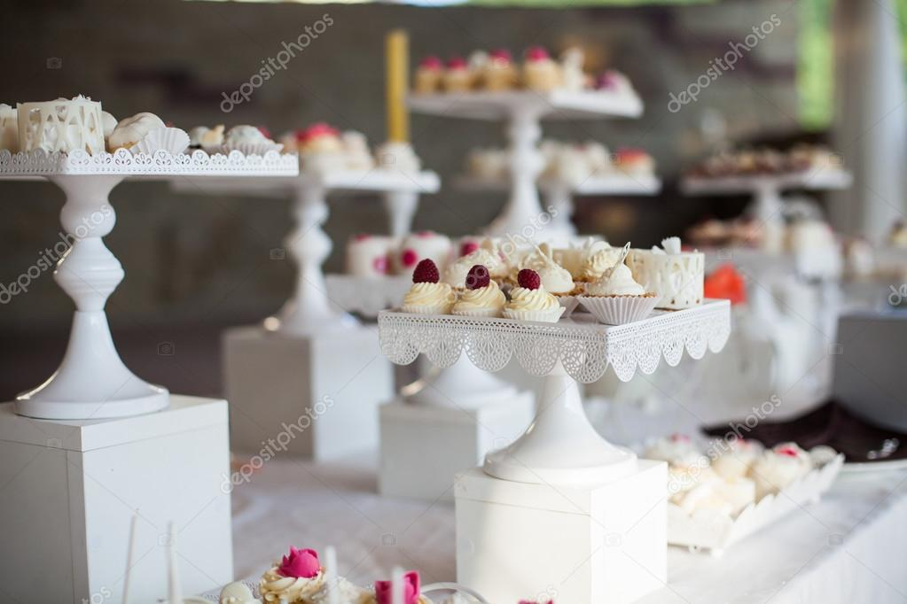 Wedding Reception Dessert Table Stock Photo Ivash 96299514