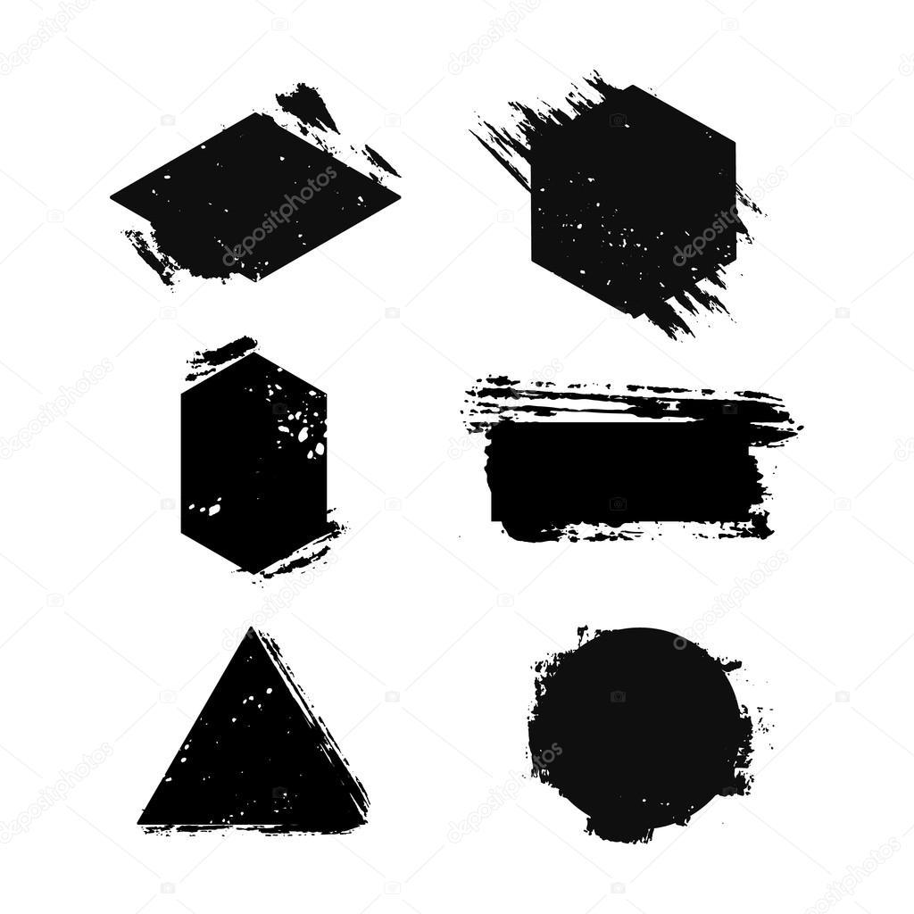 Conjunto de plantillas para logos vector de stock for Logos para editar