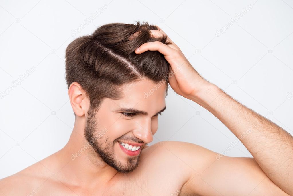 Gesunde haare mann