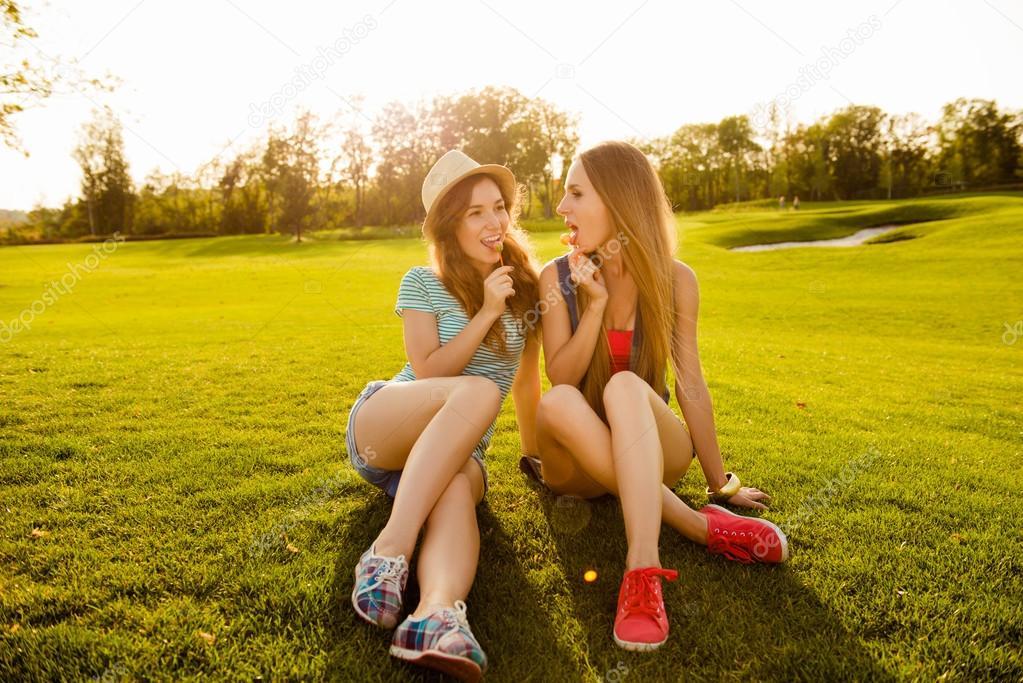 Meisjes die lul liefde