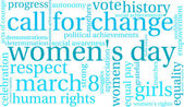 Photo Womens Day Word Cloud
