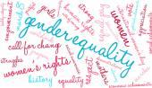 Genderové rovnosti slovo mrak