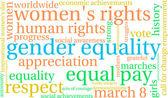 Photo Gender Equality Word Cloud