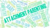 Attachment Parenting szó felhő