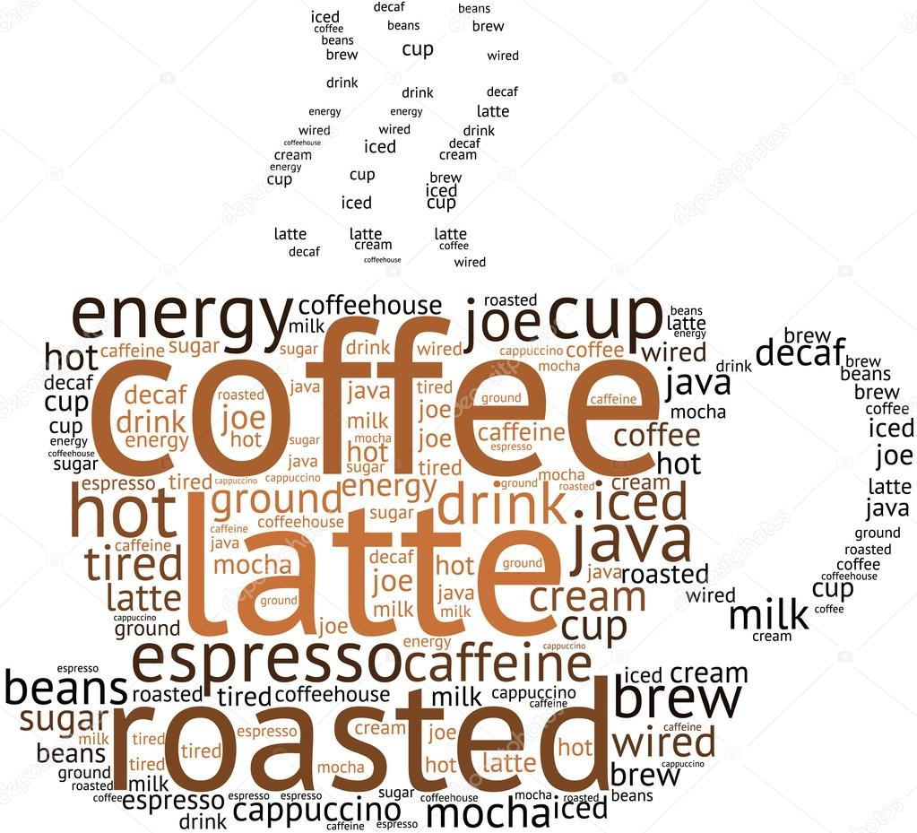 Coffee Word Cloud — Stock Vector © arloo #88585178