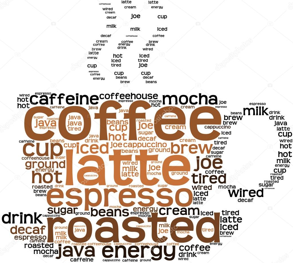 Coffee Word Cloud — Stock Vector © arloo #88586352