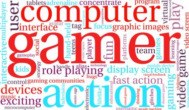 Gamer Word Cloud