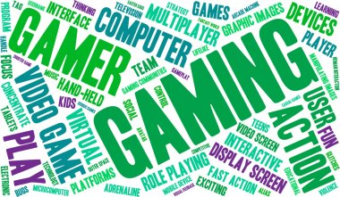 Gaming Word Cloud