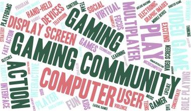 Gaming Community Word Cloud