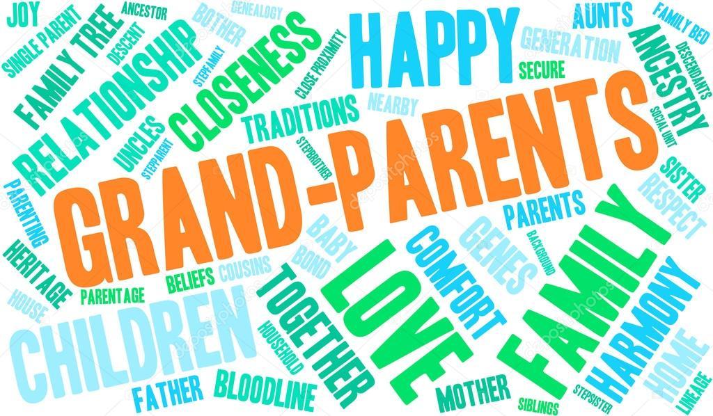 Grand-Parents Word Cloud