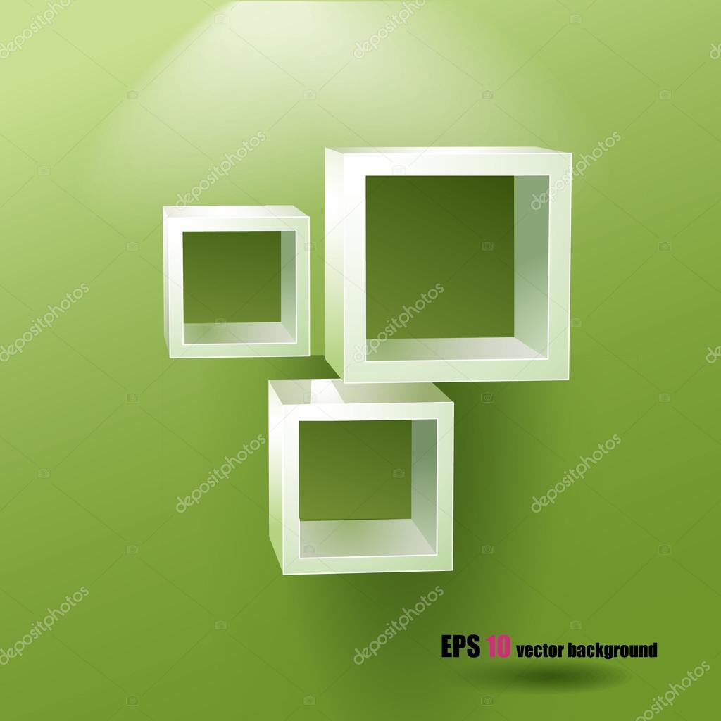 Prima Tre kvadratmeter hyllor — Stock Vektor © nucleartrash #70798599 XO-44