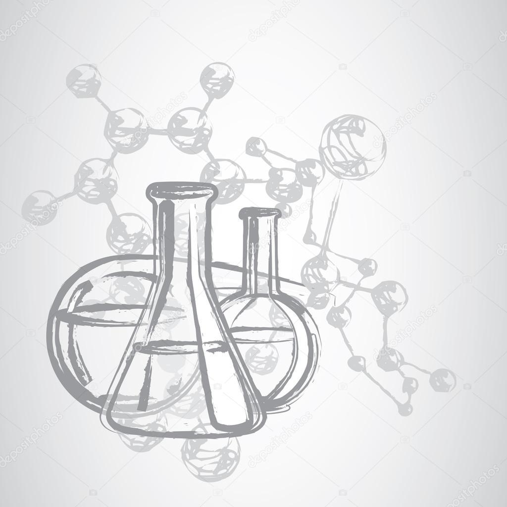 картинки химии карандашом вещи имеют