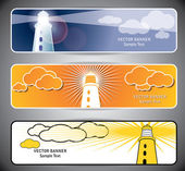 Lighthouse web banners