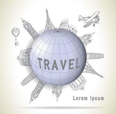Travel, landmarks, destinations concept