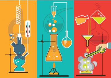 chemical, laboratory infographic