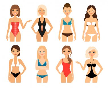Women in swimsuit