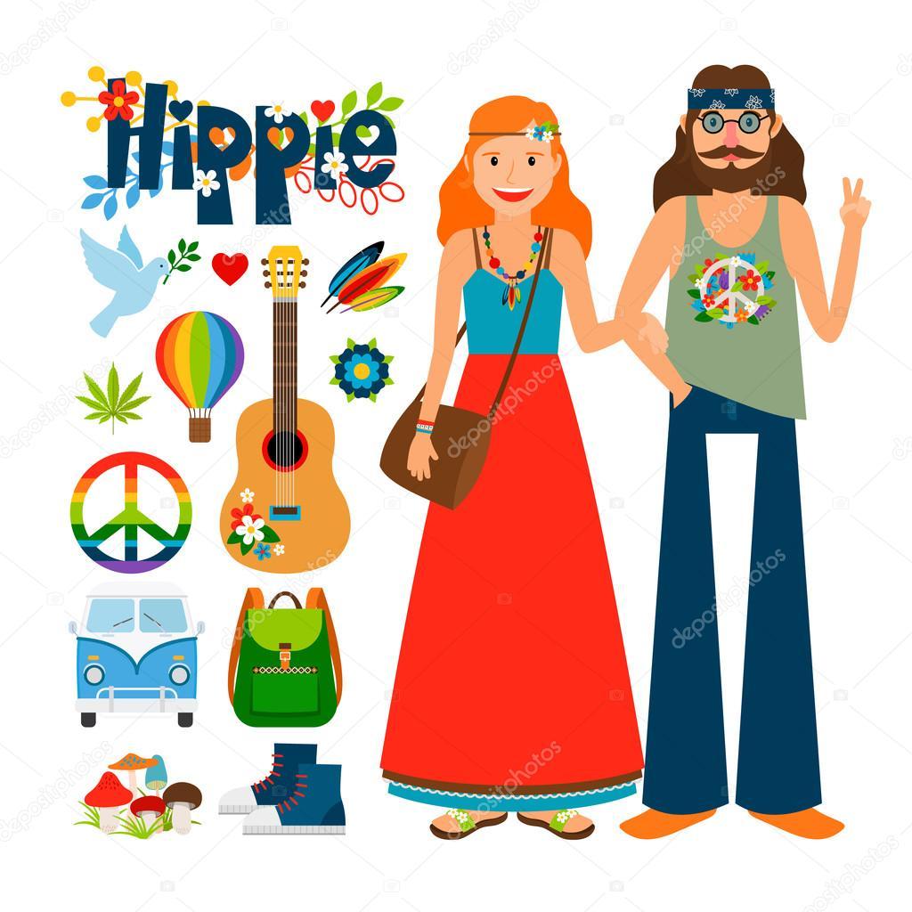 hippie meisje dating site
