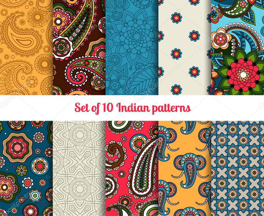 Indian pattern set