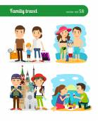 Familienreisen-Menschen