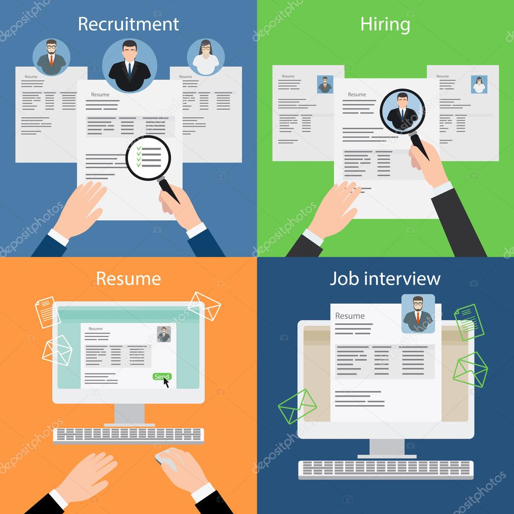 Contratación, reclutamiento, curriculum vitae y entrevista — Archivo ...